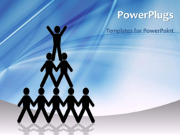 PowerPoint Template - Leadership concept
